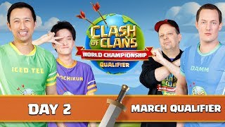 World Championship March Qualifier Day 2 Clash of Clans