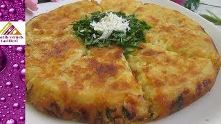 Tavada Patates Böreği Tarifi Pratik Yemek Tarifleri