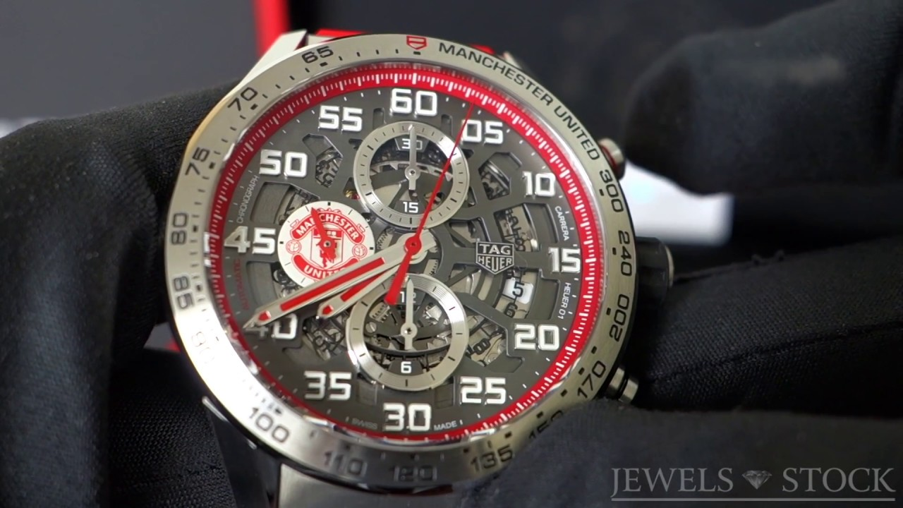 c34af4d062f TAG Heuer Carrera Manchester United Special Edition - YouTube