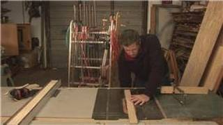 Home Repair Tools : How To Cross Cut On A Table Saw