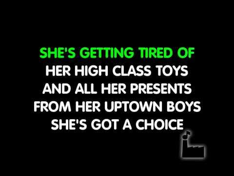 Westlife - Uptown girl super karaoke version