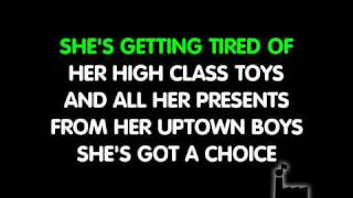 Westlife - Uptown girl super karaoke version