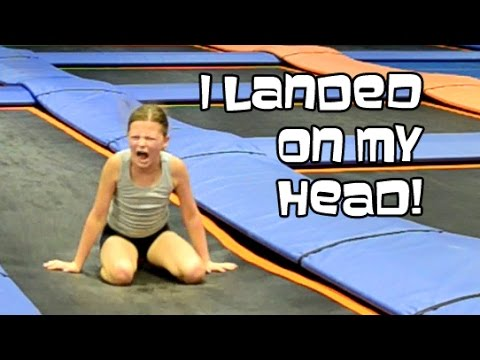 Trampoline Park Back Handsprings | Gymnastics With Bethany G