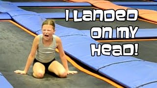 Trampoline Park Back Handsprings | Gymnastics With Bethany G
