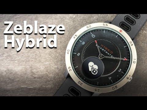 Zeblaze Hybrid - Analog/Digital Cheap Smart Watch - Waterproof Smart Watch 5ATM + Blood Pressure