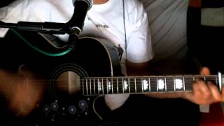 You´re Going To Lose That Girl ~ The Beatles ((°J°)) ~ Acoustic Cover w/ Epiphone EJ-200CE BK ~ Redo