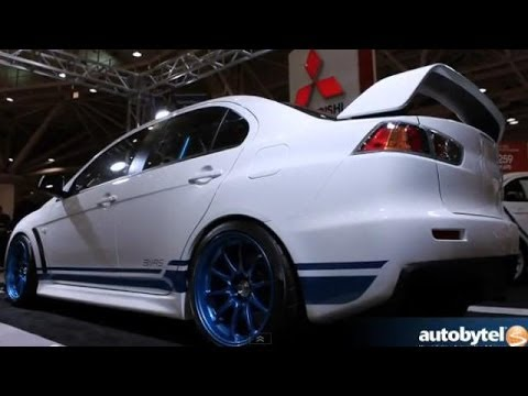 Mitsubishi 311RS EVO X Debut by Ryan Gates @ 2013 Twin Cities Auto Show
