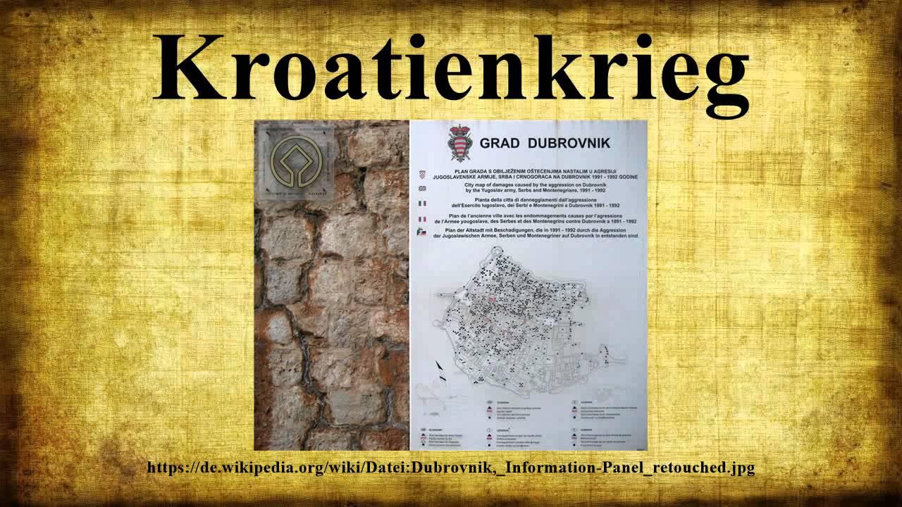 Kroatienkrieg