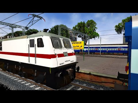 Loco Change of Himalayan Queen Express | MSTS Indian Train Simulator | Open Rails | Part 2