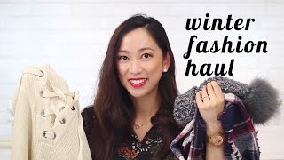 Winter Fashion Haul ft. Madewell, Free People & More!, winter fashion haul