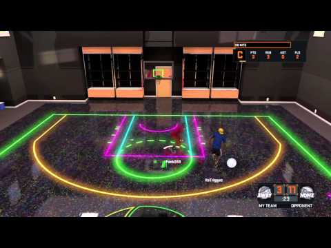 NBA 2K16 Fonk283 Vs TriggazGME 1 On 1