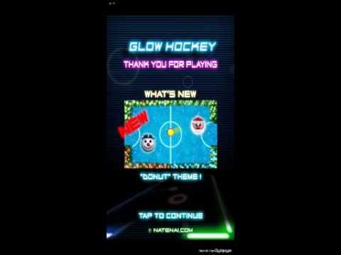 Mobil oyun 1 glow hockey tanıtımı pro Amal bey