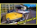 Best Classic Soviet Cars from the 70s and 80s. History of Soviet Cars Lada 2101, Gaz Volga 21