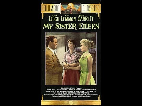 Janet Leigh, Jack Lemmon,My Sister Eileen,  fiml  hd  1080p