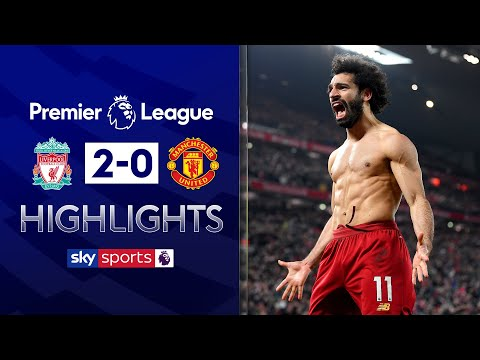 Salah seals Liverpool victory over Man Utd! | Liverpool 2-0 Man Utd | Premier League Highlights