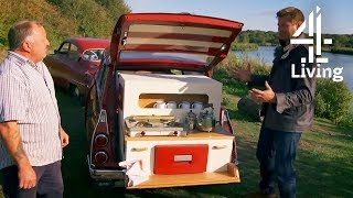 He Built a Trailer Home in the Back of His Car for £1,000! | George Clarke's Amazing Spaces
