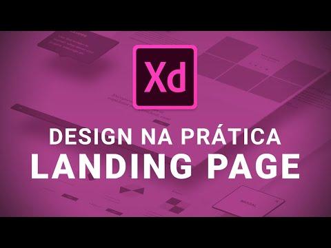 🔴 Live: Landing Page Com Adobe XD (Parte 01) - Vamos Criar Juntos