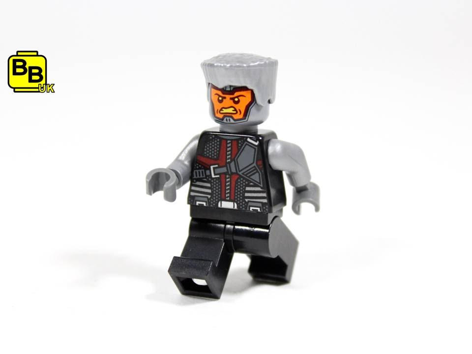 CUSTOM LEGO MINIFIGURE Colossus inspired by Marvel X Men