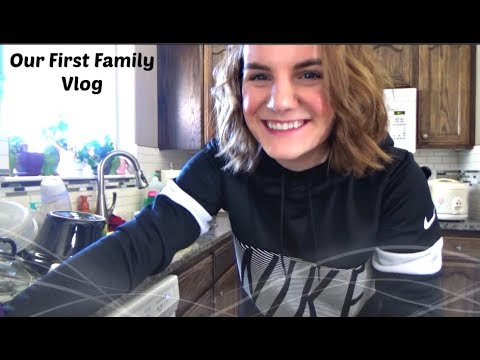 My 1st Family Vlog & Introduction