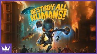 Twitch Livestream | Destroy All Humans (2020) Full Playthrough [Xbox One]