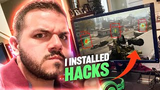 I wall hacked on Warzone... This is what happened...