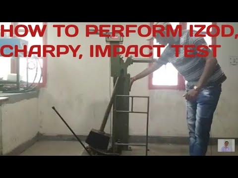 IZOD IMPACT TEST