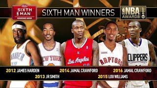 2017 NBA Awards: Sixth Man of the Year Finalists
