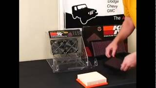 k air filter k air filter vs stock air filter demo