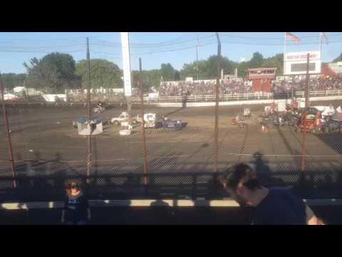 Tyler Shoemaker - MOWA Macon Speedway - Qualifying 7/29/2017