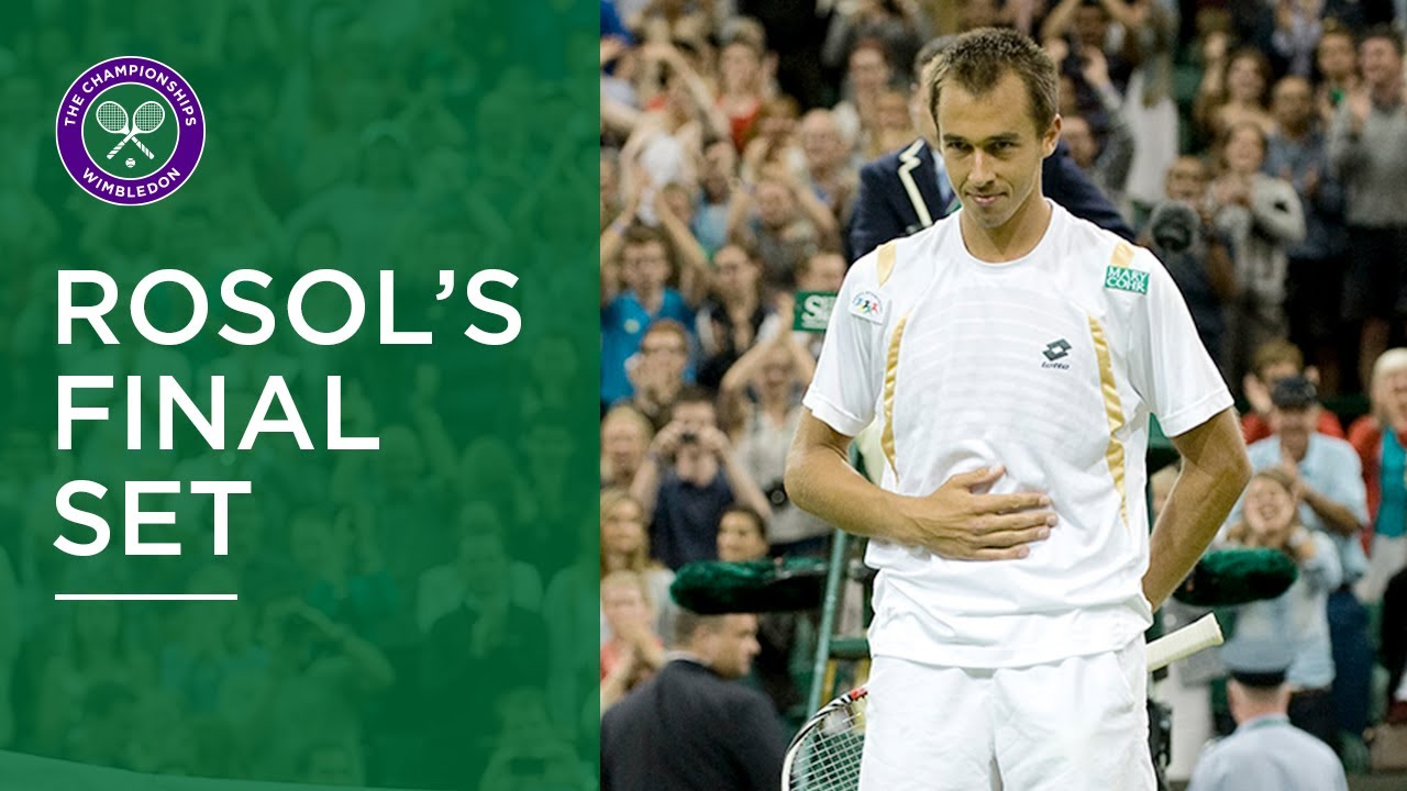 Lukas Rosol vs Rafael Nadal | Wimbledon 2012 | Final Set Condensed