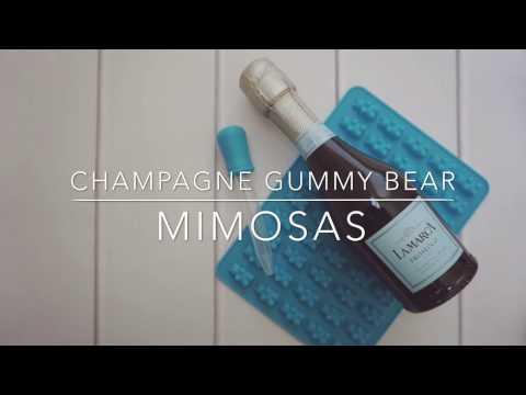 Champagne Gummy Bear Mimosa