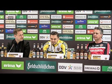 34. Spieltag | FCM - SGD | Pressekonferenz vor dem Spiel