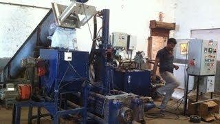 Mustard husk briquetting machine Call +91 9481549621 prakrutimachines.com