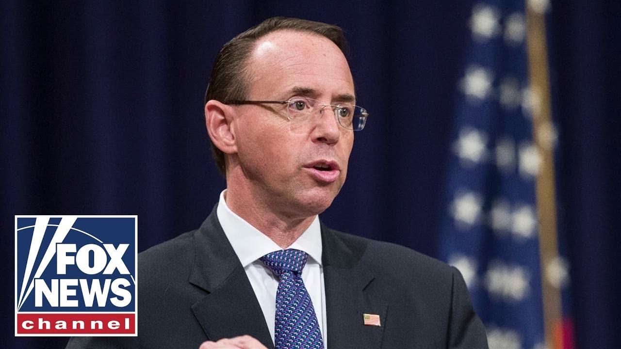 Fitton: Congress failed in its oversight of Rosenstein, DOJ