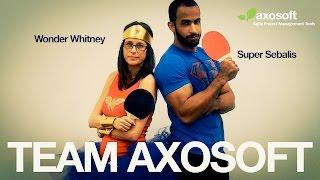Team Axosoft Ping Pong Trailer
