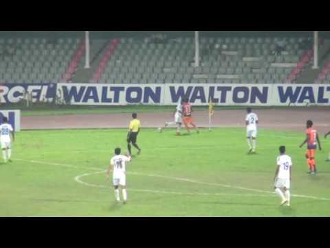 Brother's Union club vs Uttar Baridahra club Walton Federation Cup 2016.