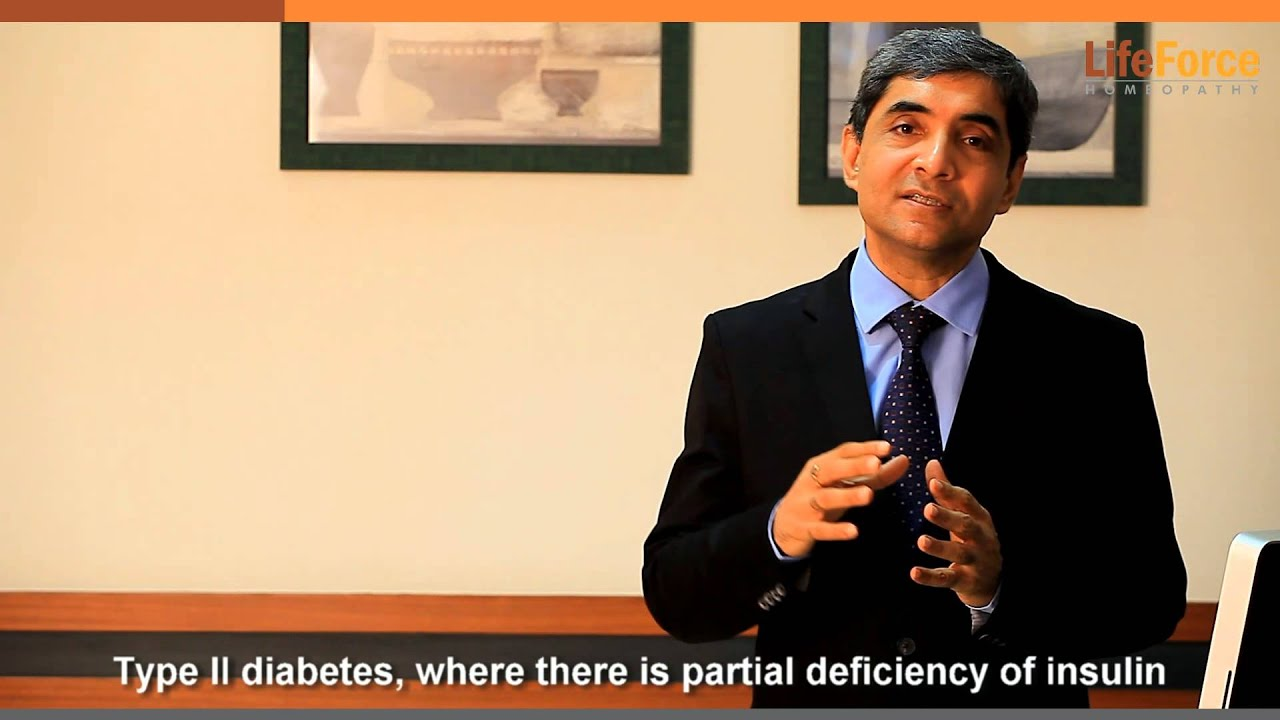 Diabetes 2: Homeopathic Treatment & Causes