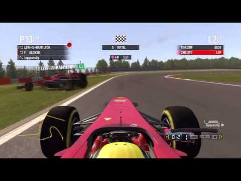 F1 2011 - Crash Montage pt 5 with Commentary