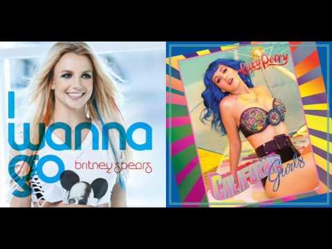 Britney Spears - I Wanna Go (California Gurls Mashup Remix) MashupMaker9000