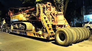 Heavy Equipment Transport Scania Dolly Fuso Self Loader And UD Trucks