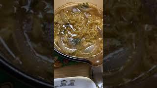 스낵면+계란 2알+양파&잡곡밥1=라면 정식☺️