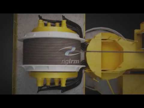 Rig IRM - Crane Wire Rope Lubrication Animation