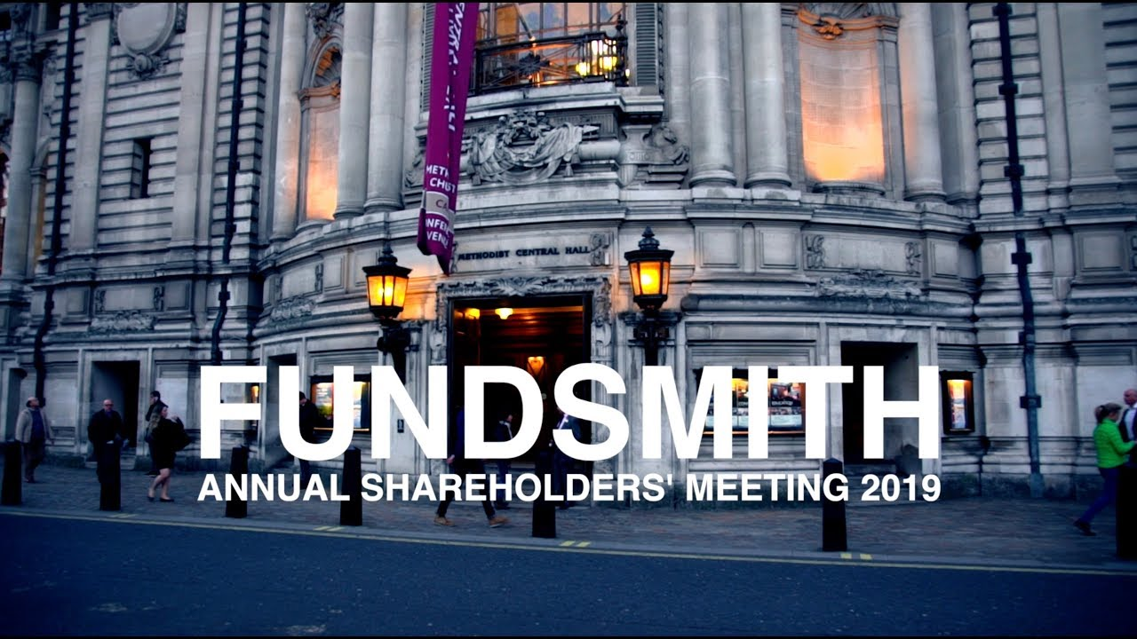FUNDSMITH Annual Shareholders' Meeting (2019)
