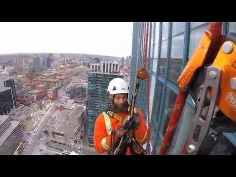 IRATA Rope Access 674' Toronto, Ontario