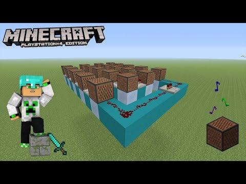 MUSIQUE D'HORREUR EN NOTE BLOCK PS4/XBOX ONE (Minecraft Console Edition)
