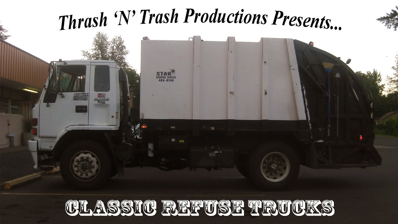 Classic Refuse Trucks Youtube