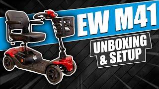 EW M41 Unboxing & Setup Video