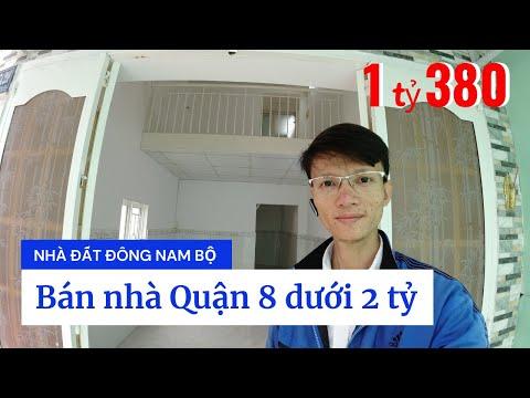 Video nhà bán Quận 8 dưới 2 tỷ, hẻm 2385 Phạm Thế Hiển phường 6 Quận 8, cuối đường Tạ Quang Bửu