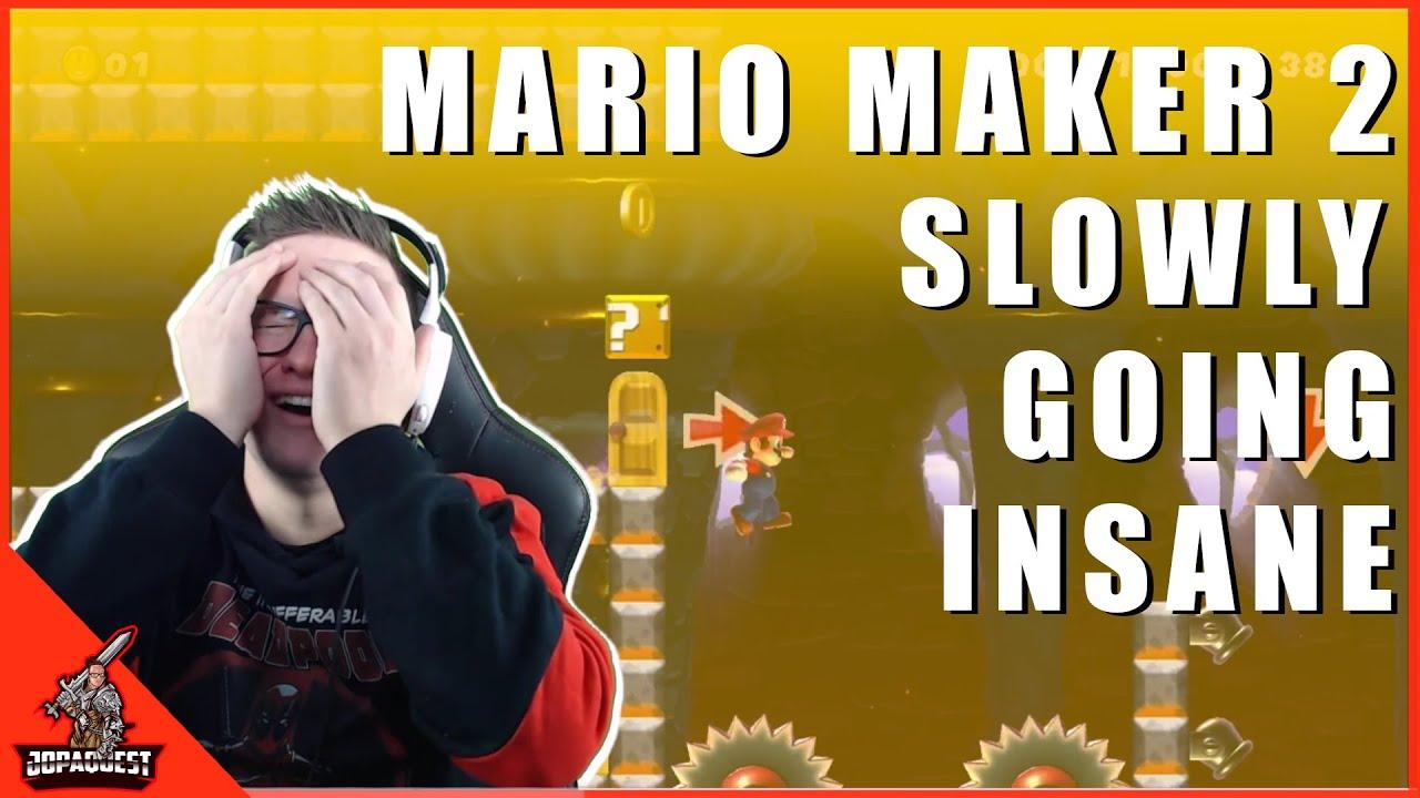 Download Super Mario Maker 2 Gameplay - Slowly Going Insane!