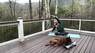 Winter is slowly coming to the mountains! Let yoga warm your spirits.